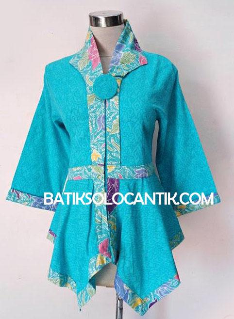 baju kerja modern model batik emboss 02 daniyanticom