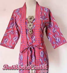 BLOUSE BATIK KUTUBARU MODEL KARTINI