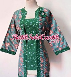BLOUSE KERJA MODEL BATIK MODERN