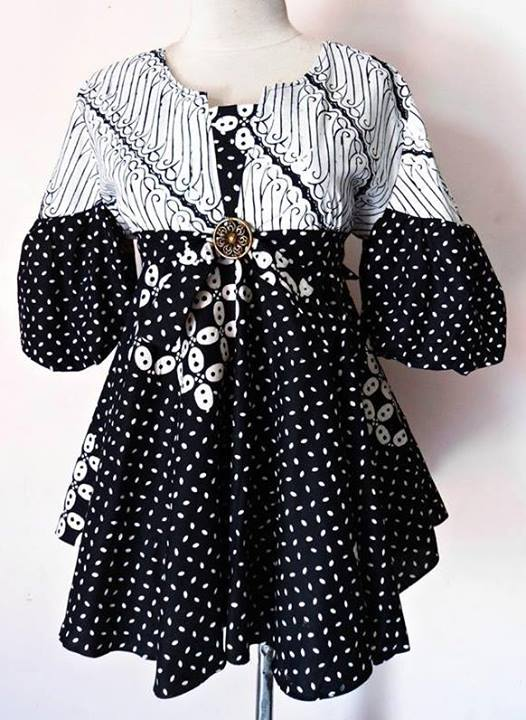 Model Long Dress Batik Modern Remaja | Holidays OO