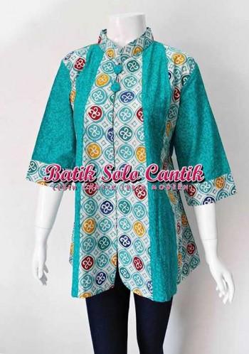 Model Baju Kerja Batik Modern 2015