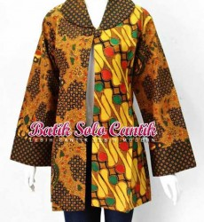 blazer batik sogan 03