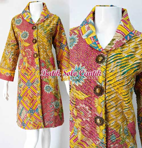 dress batik Cacah