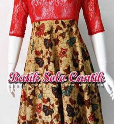 dress batik cantik