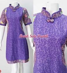 dress batik emboss
