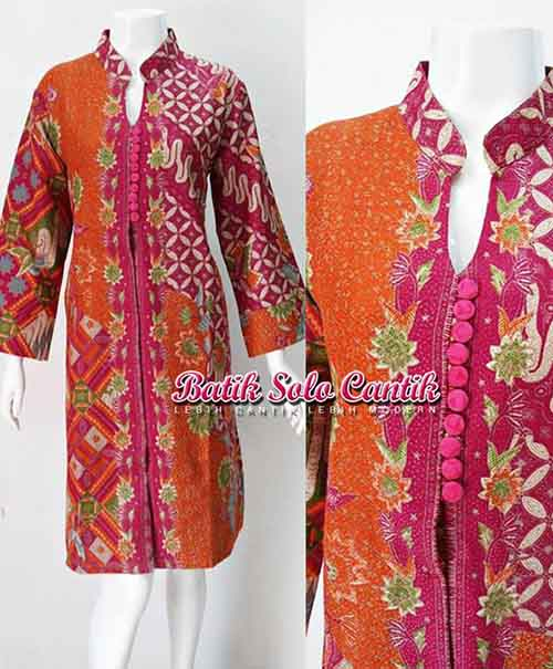 DRESS BATIK SOLO DOBY ANGGUN