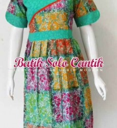 DRESS BATIK SOLO TERBARU