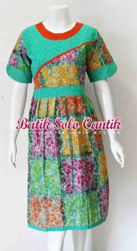 MODEL DRESS BATIK SOLO TERBARU | DANIYANTI.COM