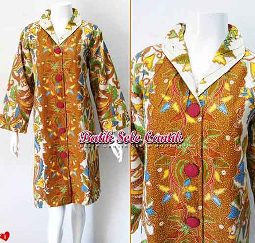 Dress Batik Dobi Tricot Premium