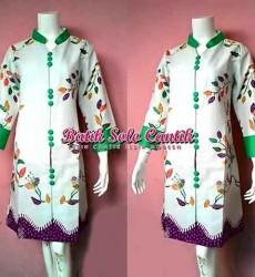 BATIK TULIS MODEL DRESS BATIK SOLO2