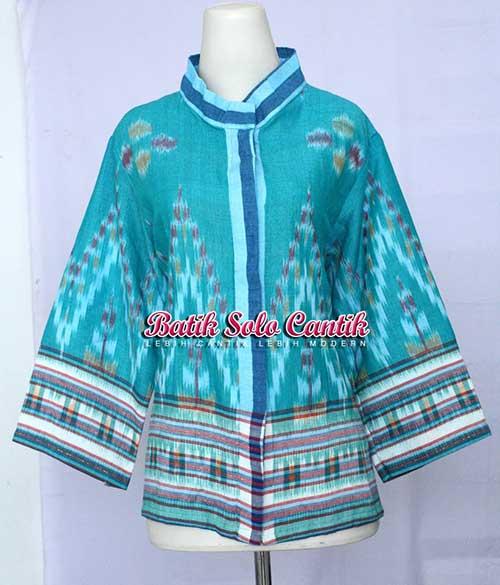 baju tenun wanita