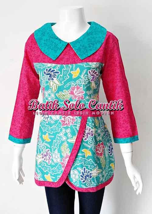 baju batik untuk pesta