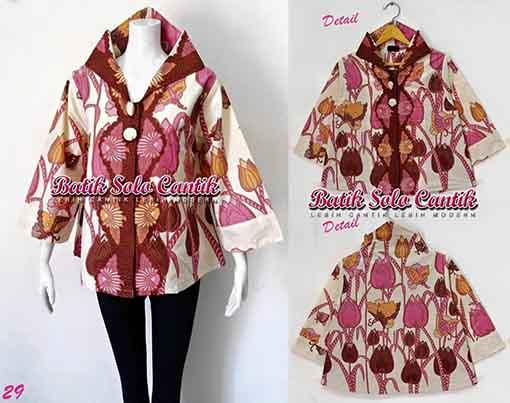 DRESS BATIK MODEL COAT MIRANDA
